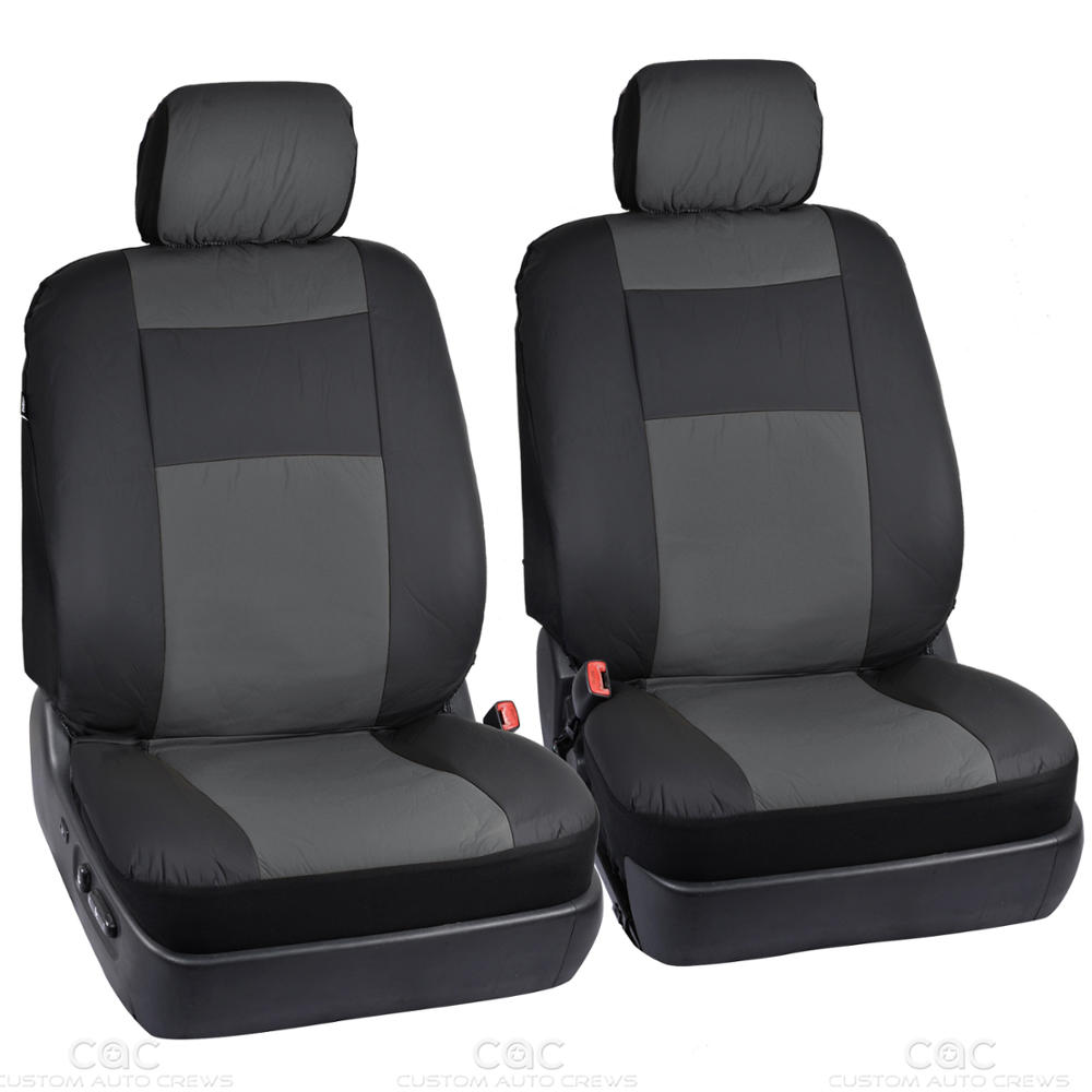 pu vinyl leather car seat covers 9 pieces front rear. Black Bedroom Furniture Sets. Home Design Ideas
