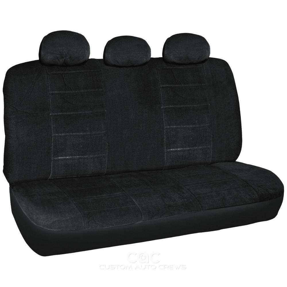 Encore Bucket Seat Covers High Back Full Cover 7pc Black Interior Ebay