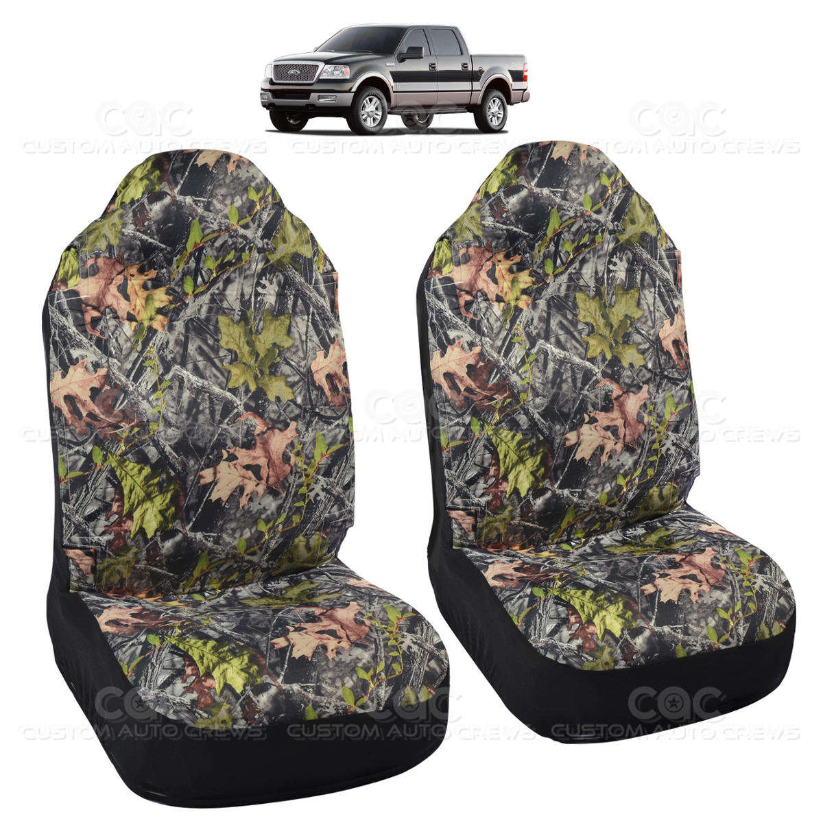 camo seat cover for ford f 150 big truck seat cover 2 piece camouflage ebay. Black Bedroom Furniture Sets. Home Design Ideas