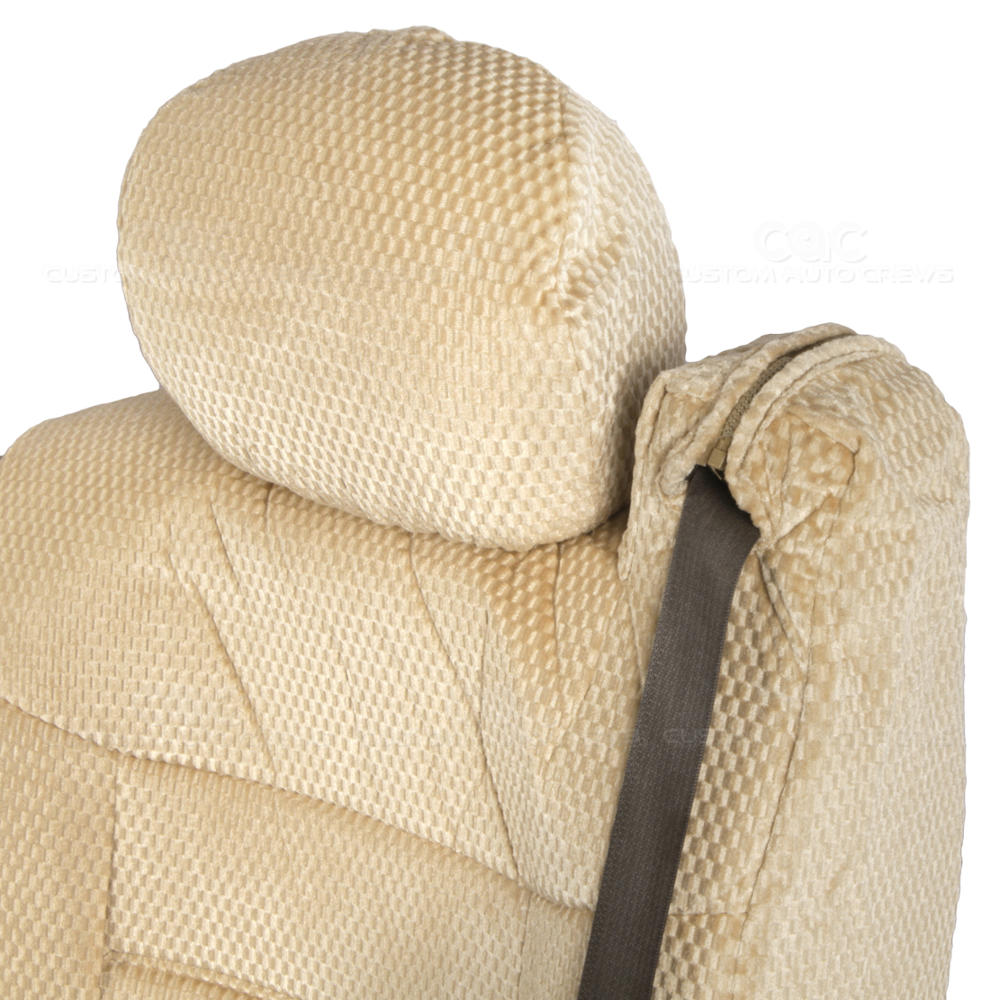 Front Pair Integrated Seat Belts Scottsdale Beige Truck