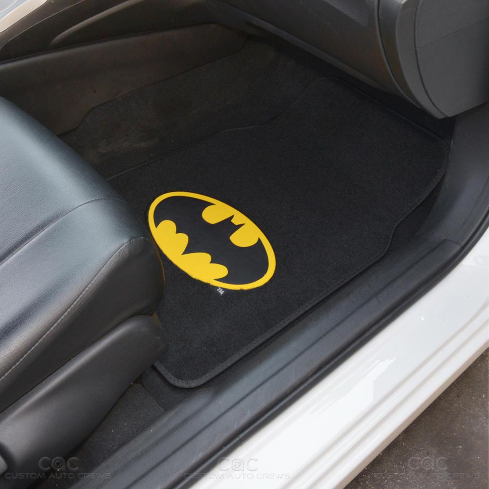 Officially Licensed Batman Seat Cover Car Floor Mat Full
