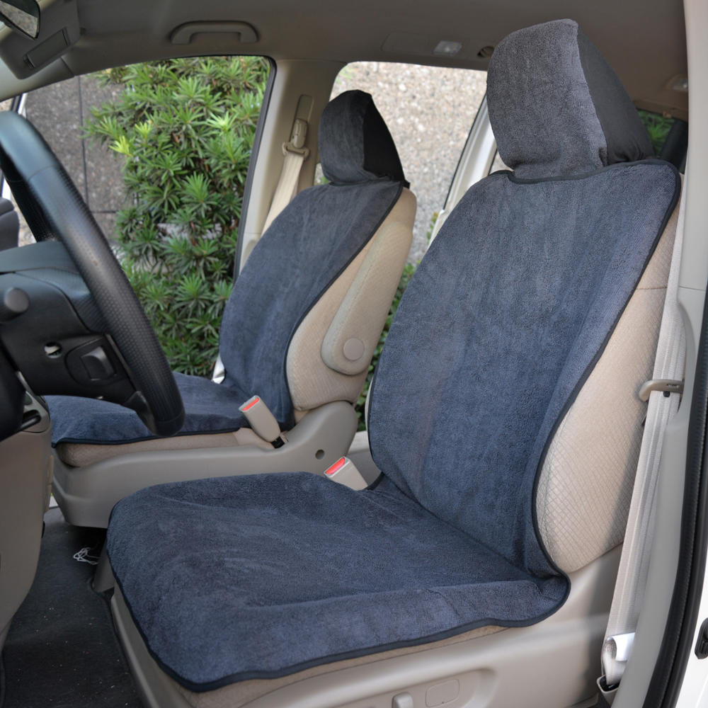 Pair Trim Seat Towel Auto Covers Protectors For Car Suv