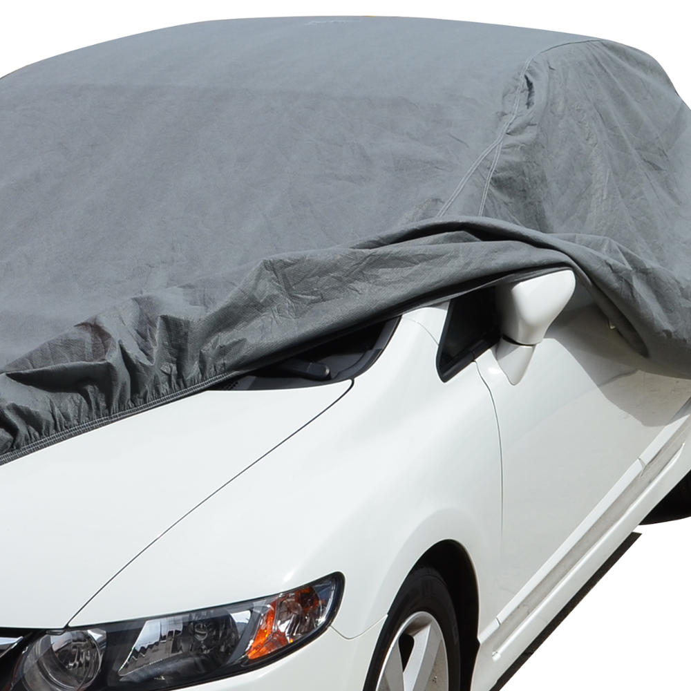 BDK CC-341-S Motor Trend Small 3-Layer Car Cover