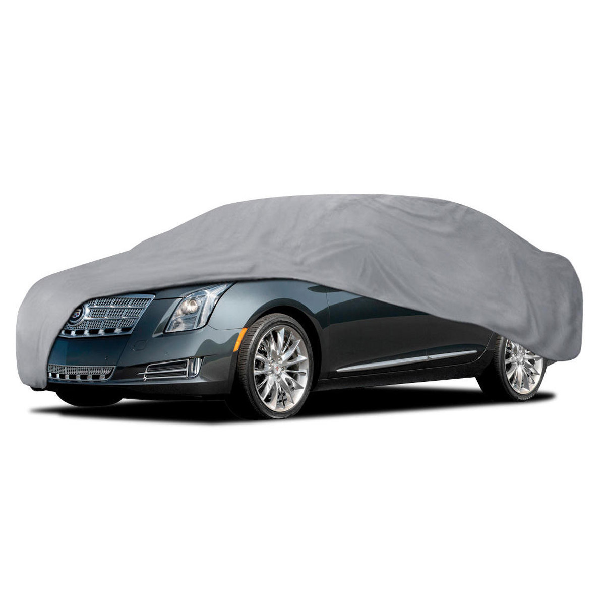 Car Cover For Cadillac XTS 4 Layers Outdoor Waterproof Sun