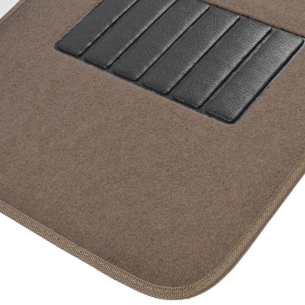 Brown Carpet Car Floor Mats Set Of 4 Driver Passenger And