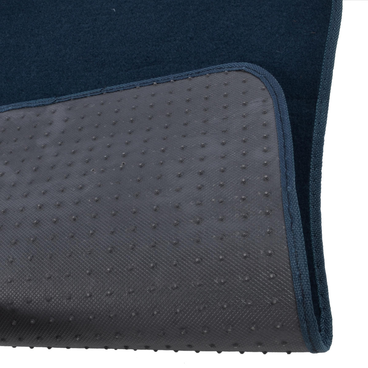 Auto Floor Mats For Car Classic Carpet W Heelpad Blue 4