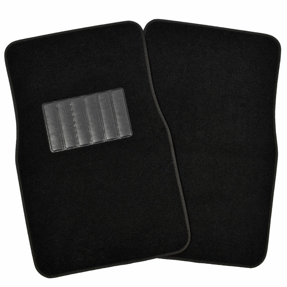 Black Fabric Car Seat Covers Amp Rug Floor Mats Auto