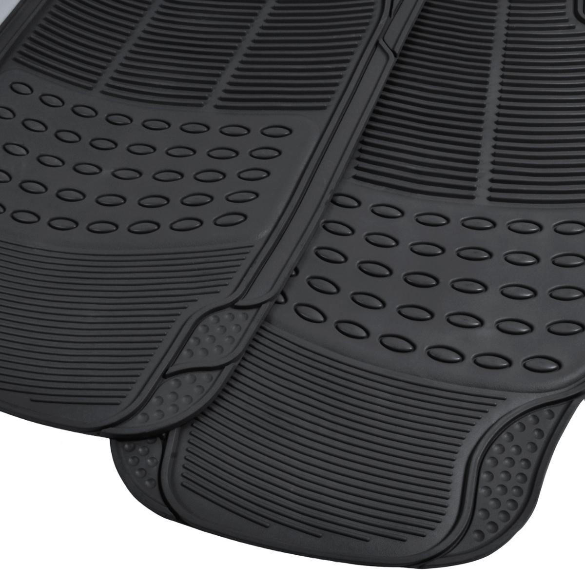Car Floor Mats For All Weather Rubber Heavy Duty
