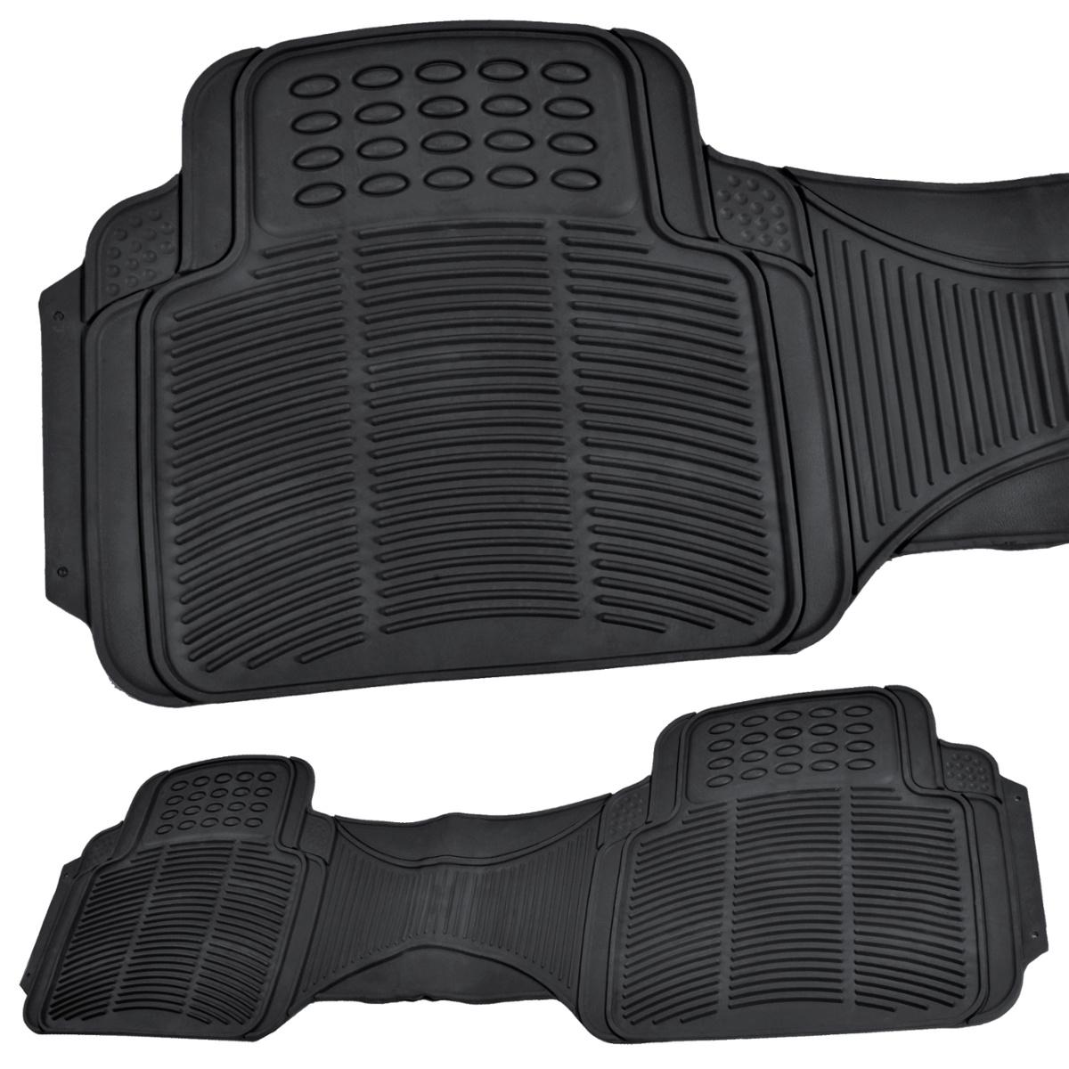 Vehicle Floor Mats : Car floor mats for all weather rubber heavy duty
