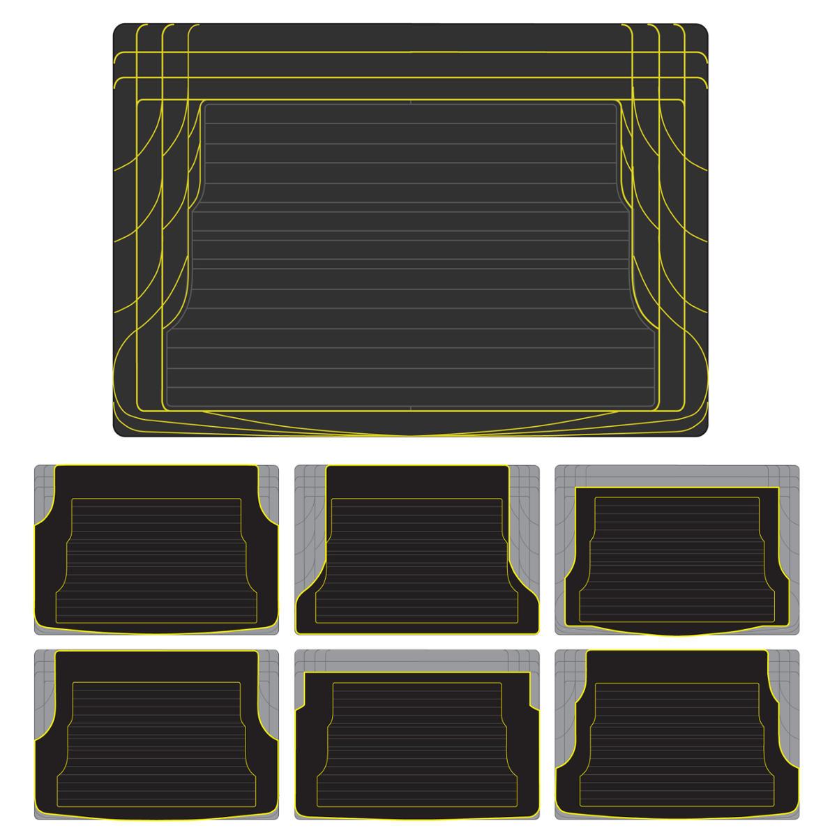 Motor Trend Eco Tech Car Floor Mats W Cargo Liner Gray