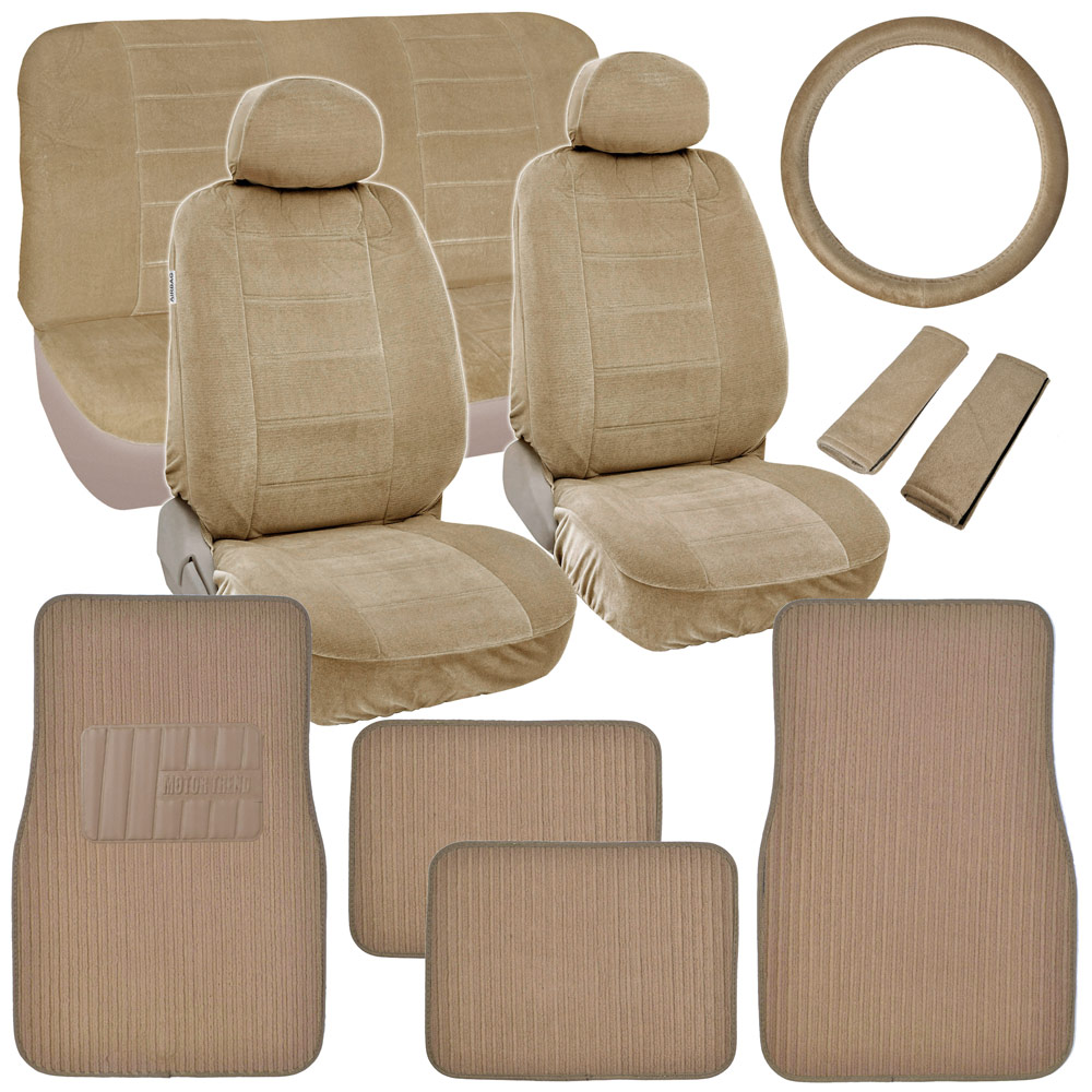 Retro Vintage Fabric Seat Covers Amp Carpet Floor Mats