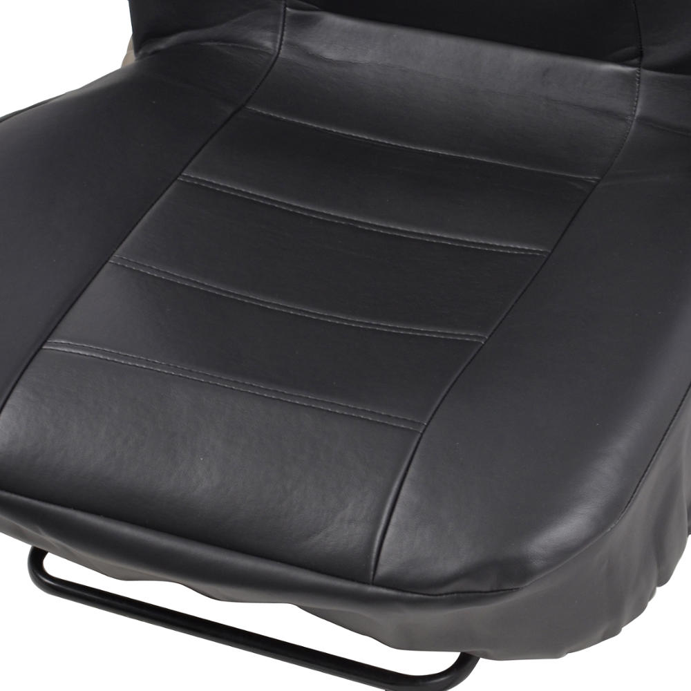 ProSyn Black Leather Auto Seat Covers for Nissan Sentra Full Set Car Cover
