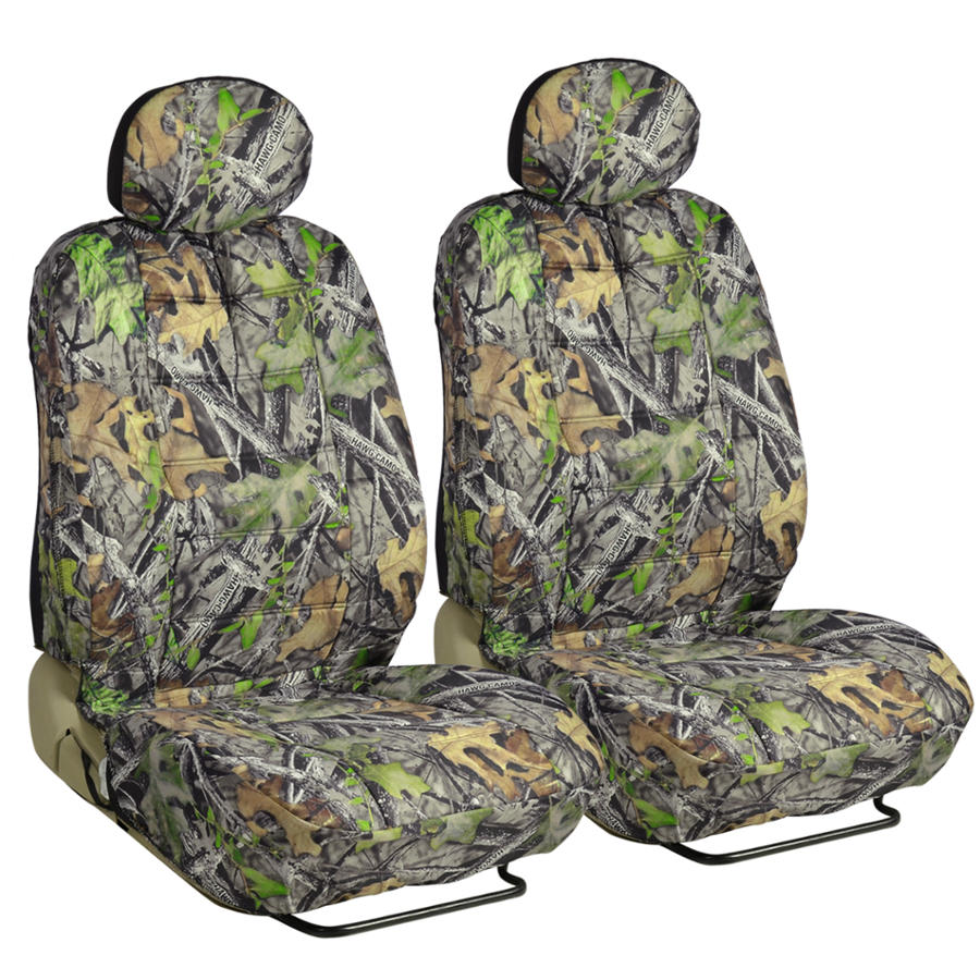 Camo Seat Covers For Auto Truck SUV Car Camouflage W/ Mats