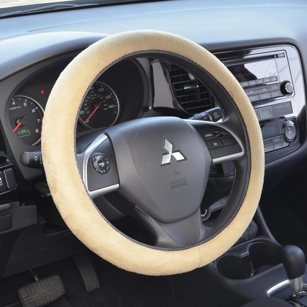 Memory Foam Car Steering Wheel Cover Comfortable Cushion Grip Gray for Honda