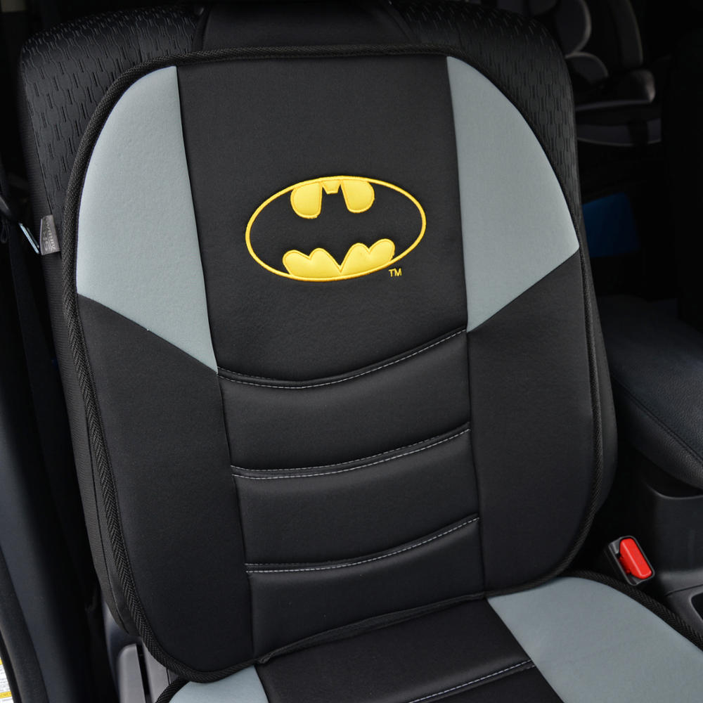 Pair Batman Seat Cushions 2pc Padded Massage Car Auto Home