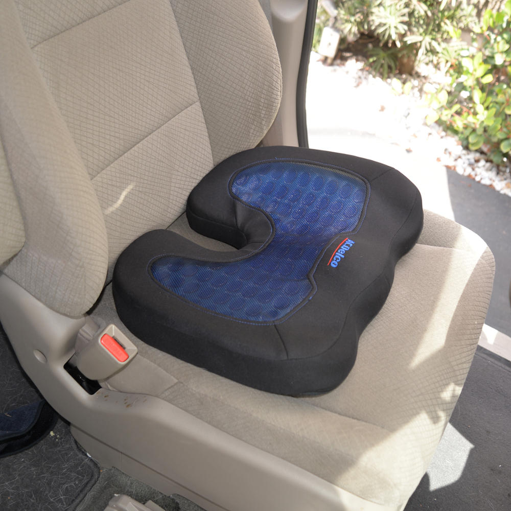 acdelco orthopedic cooling gel therapy coccyx seat cushion. Black Bedroom Furniture Sets. Home Design Ideas