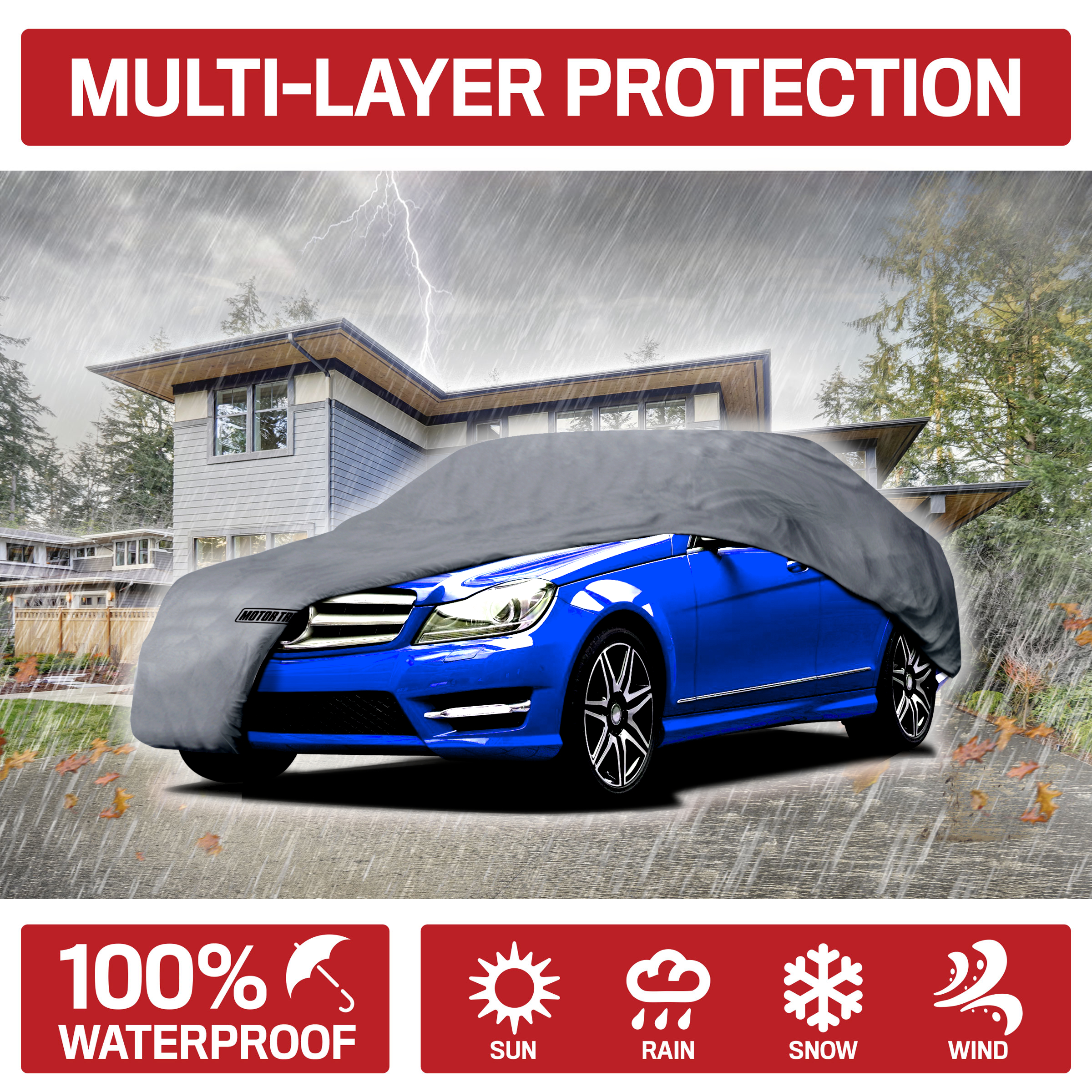 High Quality Breathable Car Cover Protector For Fiat Coupe 1995-2000