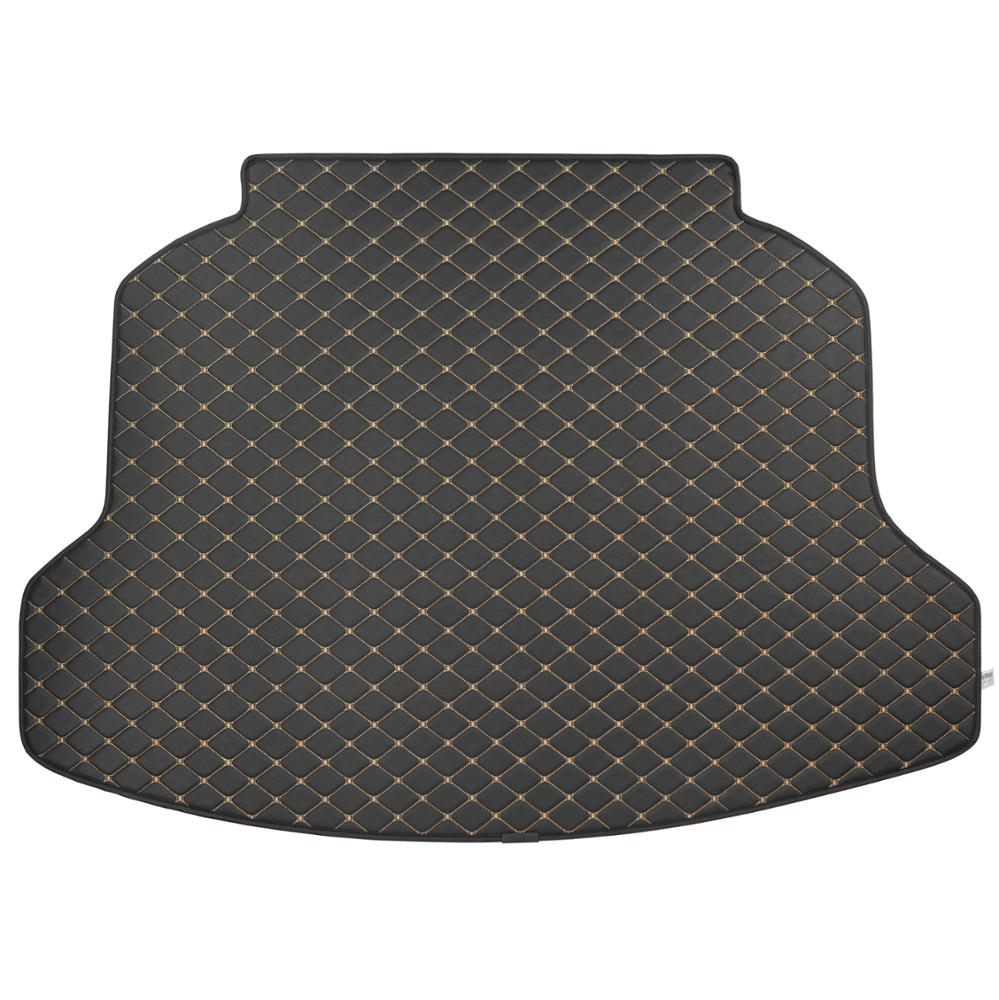 Motor Trend Pu Leather Trunk Mat Cargo Liner For Honda Crv